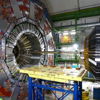 Dr Stephen Myers led a team of 2,000 researchers who worked on the Large Hadron Collider in Geneva