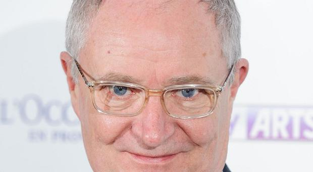 Jim Broadbent recited a poem to the crowd at the Big IF concert in Belfast