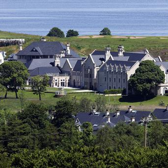 Lough Erne Hotel resort in Co Fermanagh, venue for the G8 summit