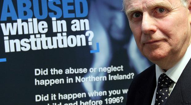 Sir Anthony Hart, chairman of an inquiry into historical institutional abuse in Northern Ireland