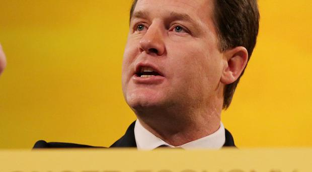 Deputy Prime Minister Nick Clegg said Start-Up Loans were a 'great success' in England