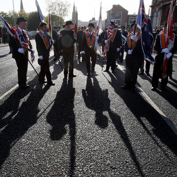 The Orange Order's annual Tour of the North