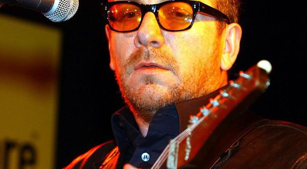Elvis Costello and the Imposters play the Venue in Ebrington, Londonderry, on Thursday