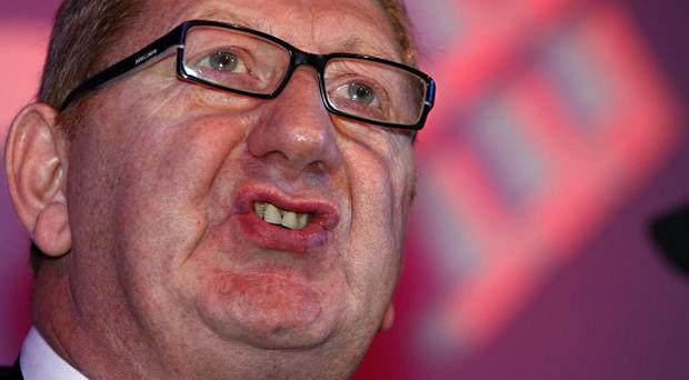 Unite leader Len McCluskey says austerity policies are being wielded as a political weapon