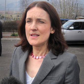 Northern Ireland will not yet be required to disclose the name of its political donors, Theresa Villiers has announced