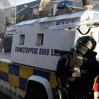 Police in Co Armagh have seized a stash of petrol and paint bombs