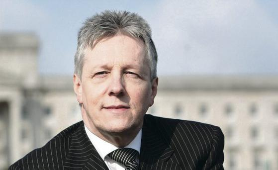 First Minister Peter Robinson says he cannot recall the DUP getting more than £5,000 in a single donation