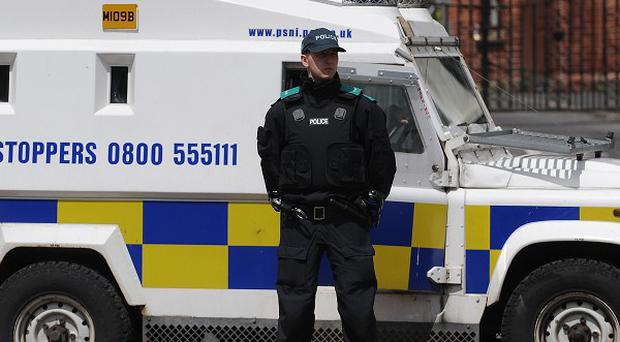 Police said a woman was threatened by a man with a knife and forced from her vehicle in Londonderry