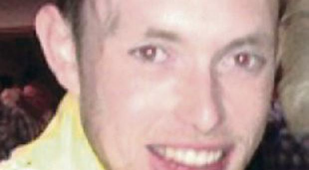 Chris O'Neill who died in Kilrea