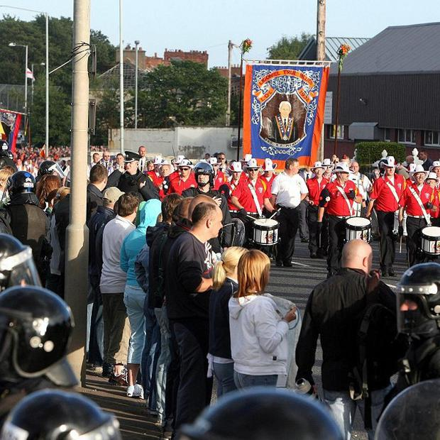 Talks hoping to resolve a disputed Twelfth of July feeder parade have broken down