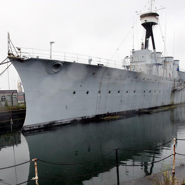 HMS Caroline is set to undergo a multimillion-pound preservation project by the National Museum of the Royal Navy