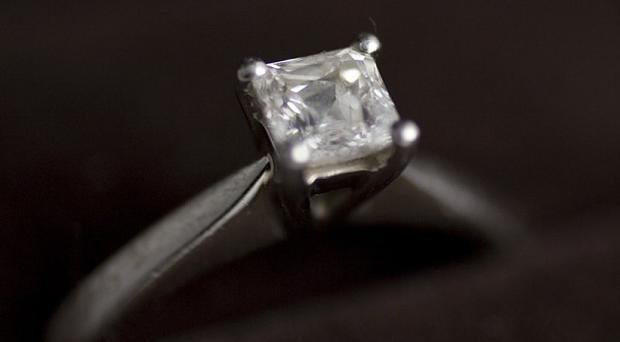 Jewellery valued at around 10,000 pounds has been stolen from a home in Castlereagh