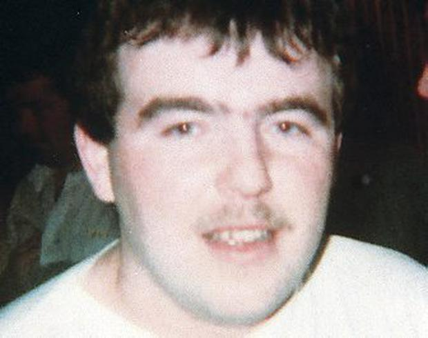 Martin McCaughey who was shot dead by the SAS at Loughgall