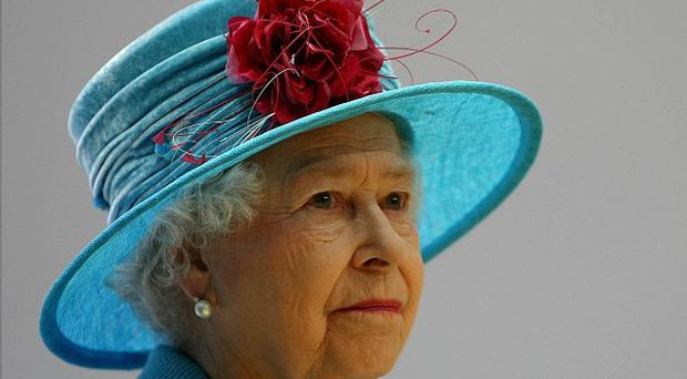 The Queen in Londonderry in 2009