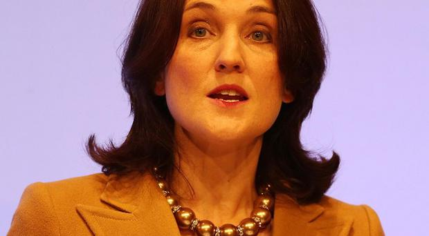Theresa Villiers appealed for calm amid fears of another outbreak of unrest in Belfast