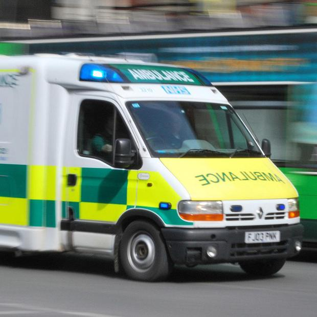 The second man was rescued and treated by ambulance staff