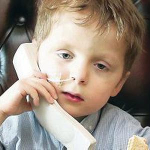 Oscar Knox (4) has been fighting neuroblastoma for 18 months