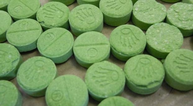 Party-goers have been warned not to take illicit drugs and in particular green tablets bearing a Rolex-style crown logo