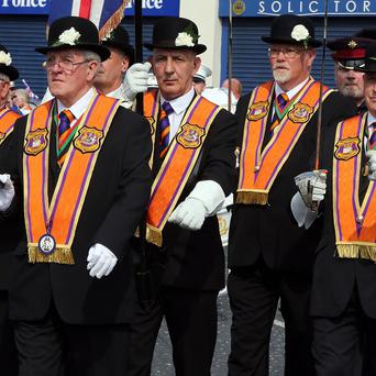 The latest Orange Order parade passed off peacefully