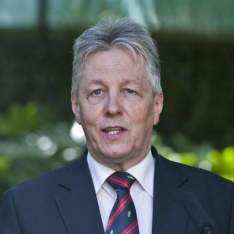 Peter Robinson has said the Sinn Fein-backed parade is