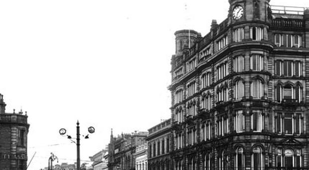 How the building used to look