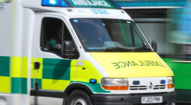 Three people have suffered minor injuries in a gas cylinder explosion at a scrap metal recycling plant