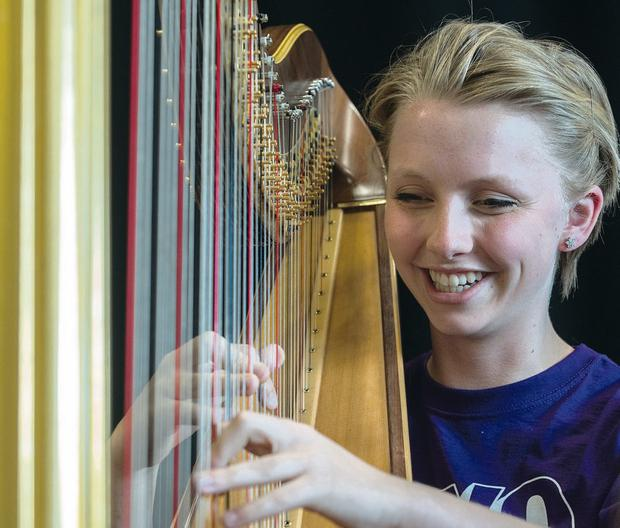 National Youth Orchestra harpist Anna Lapwood