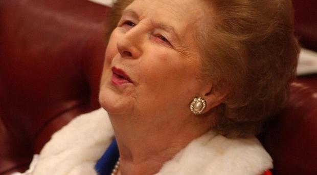 Former prime minister Margaret Thatcher reacted strongly to the 1983 Maze prison break-out