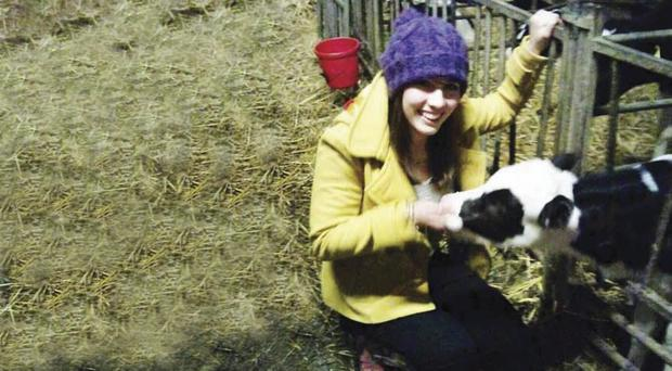 Hannah McFall is hoping she can raise funds to become a vet