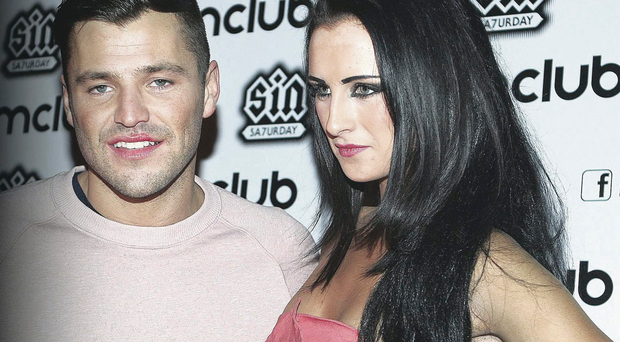 Michaella McCollum Connolly with reality TV star Mark Wright at Belfast's M Club in February