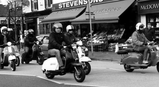 The Album depicts the Mods of Belfast during the 1980s