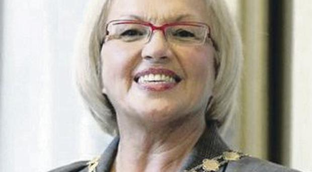 Sinn Fein councillors are hoping to bring a motion to demand Ruth Patterson's resignation before the full council