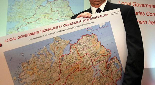 District electoral areas commissioner Dick Mackenzie has made recommendations on local council boundary changes