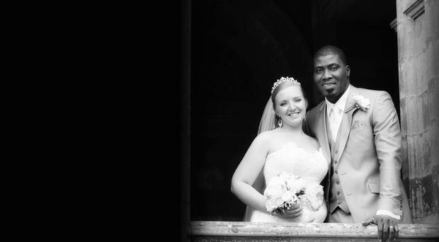 Armagh native Kirsty and husband Prince Mustapha Oniru of Lagos