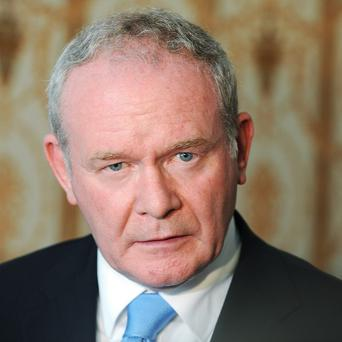 Martin McGuinness will also challenge political unionism not to cave in to hardline loyalists