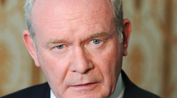 Martin McGuinness warned the DUP against caving in to hardline unionists