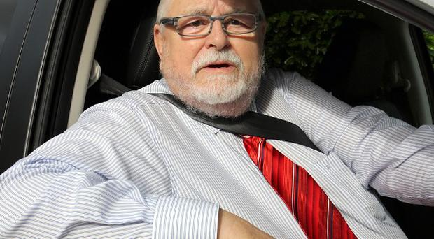 Lord Maginnis was found guilty of grabbing the other driver involved in an incident in Dungannon, Co Tyrone