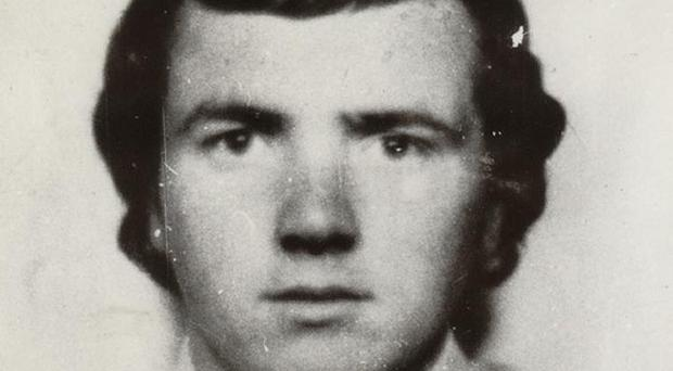 Seamus Gilmore was working at Mount Pleasant Service Station when he was shot dead by loyalist paramilitaries in a sectarian attack in February 1973 (PSNI/PA)