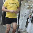 Martin Brady is often seen pounding the streets of north Belfast ahead of his marathon attempts