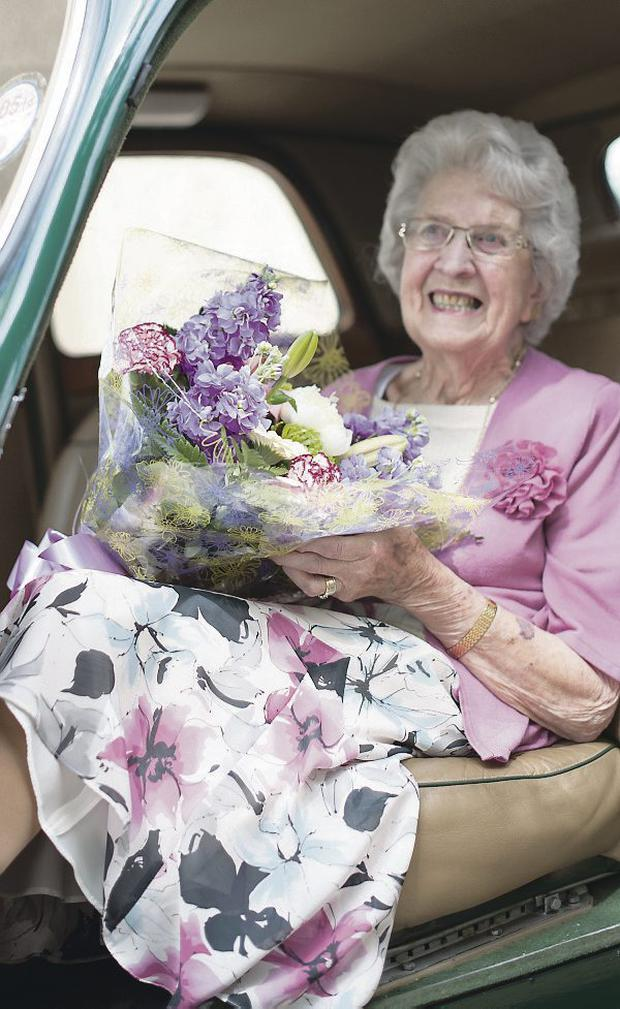 Lady Bateman celebrates her 100th birthday