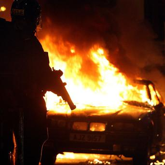 106 arrests have been made over riots linked to loyalist protests.