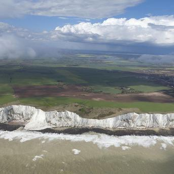 The White Cliffs of Dover has been chosen as one of the 'secret discovery' walks to mark the Great British Walk festival
