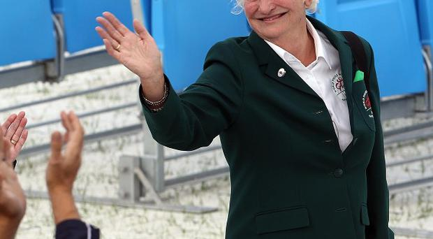 Dame Mary Peters won gold in the pentathlon in Munich in 1972