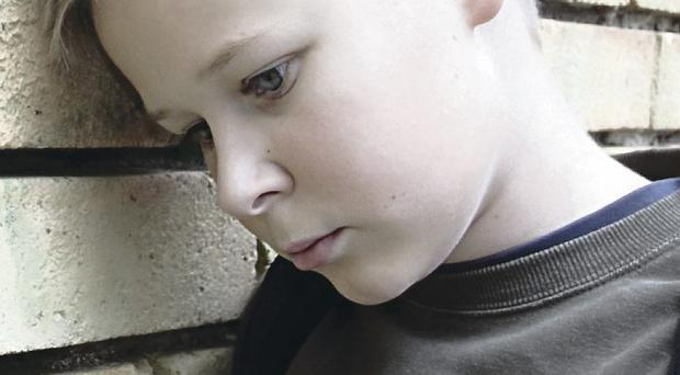 Children are targeted over appearance and weight (picture posed)