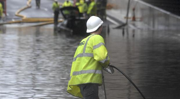 Flooding caused chaos in Belfast last summer