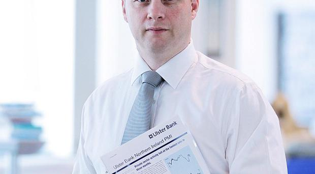 Richard Ramsey, chief economist for Ulster Bank in Northern Ireland, said there are promising signs for the economy.
