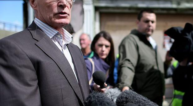 Sinn Fein's Gerry Kelly's remarks at Castlederg have been condemned by an Assembly member.
