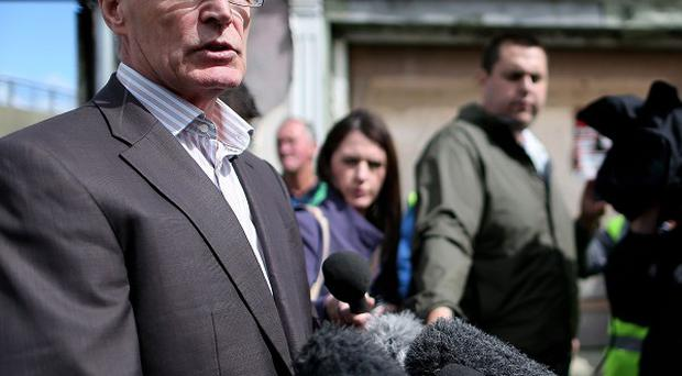 Gerry Kelly denied glorifying terrorism after addressing a republican demonstration