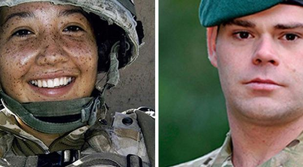 Corporal Channing Day from 3 Medical Regiment, and Corporal David O'Connor of 40 Commando were killed in an attack by off-duty Afghan police, an inquest heard