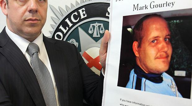 Detective Inspector Neil McGuinness is appealing for information on the whereabouts of Mark Gourley